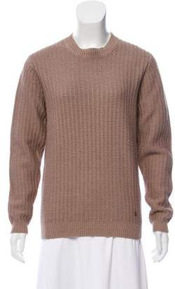 The Kooples Woven Crew Neck Sweater