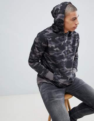 Brave Soul Camo Hoodie Sweater