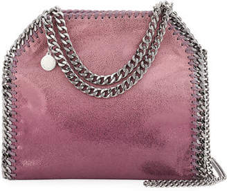 Stella McCartney Mini Falabella Metallic Tote Bag