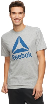 Reebok Men's QQR Stacked Tee