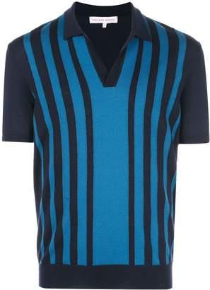 striped polo sweater