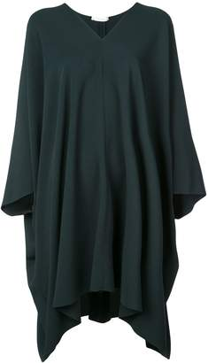The Row asymmetric hem midi dress