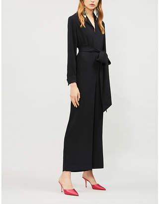 KITRI Avril wide-leg crepe jumpsuit