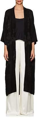 Nili Lotan Women's Hiro Floral Jacquard Kimono Robe