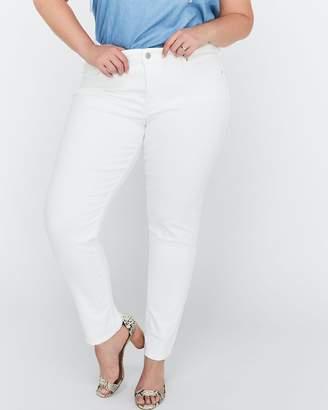 311 Shaping Skinny Soft Clean White Denim - Levi's