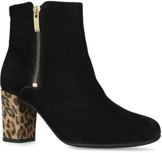 Carvela Suede Rail Ankle Boots 75