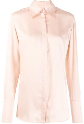 Victoria Victoria Beckham classic long sleeve shirt