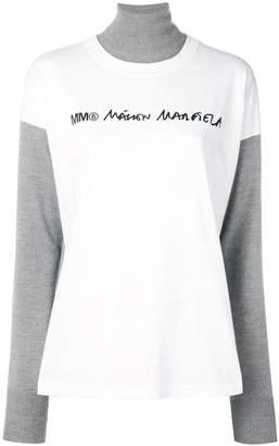 MM6 MAISON MARGIELA (エムエム6 メゾン マルジェラ) - Mm6 Maison Margiela タートルネック セーター