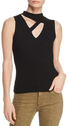 LnA Thea Ribbed Cut-Out Tank