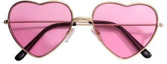 H&M Heart-shaped Sunglasses - Pink