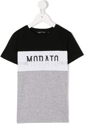 Antony Morato Junior logo printed T-shirt