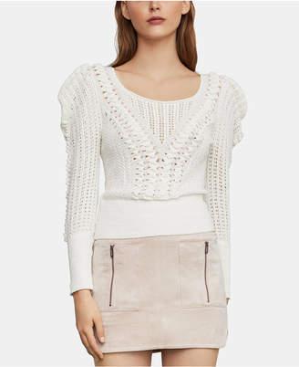 BCBGMAXAZRIA (ビーシービージーマックスアズリア) - Bcbgmaxazria Draped-Shoulder Sweater