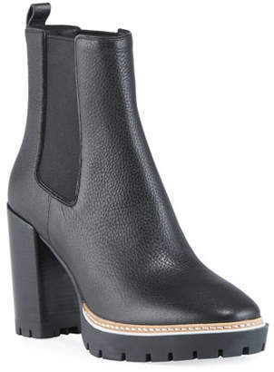Tory Burch Miller Gored Leather Booties