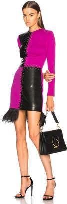 Fausto Puglisi Long Sleeve Mini Dress