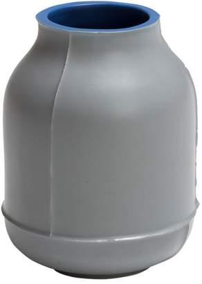Small Barrel Ceramic Vase