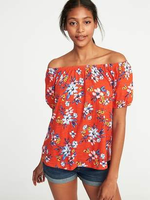 Old Navy Relaxed Bubble-Sleeve Top for Women