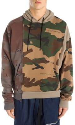 Off-White Reconstructed Camo Hoodie