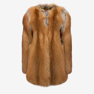 Coat In Fox Fur $8,500 thestylecure.com