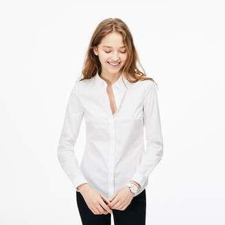 Lacoste Women's Slim Fit Stretch Cotton Poplin Shirt