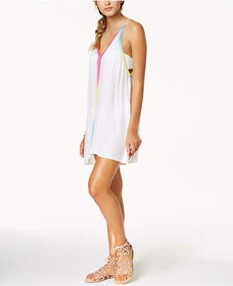 Raviya Multi-Color Trim Dress Cover-Up