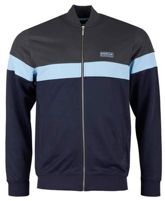 Barbour International Curved Bomber Track Top