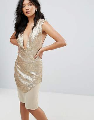 Glamorous Metallic Dress