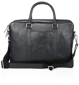 Shinola Textured Leather Computer Briefcase