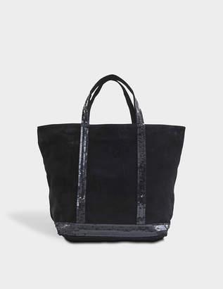 Vanessa Bruno Medium Tote Leather Sequins