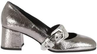 McQ Buckle Strapped Mary Jane Pumps