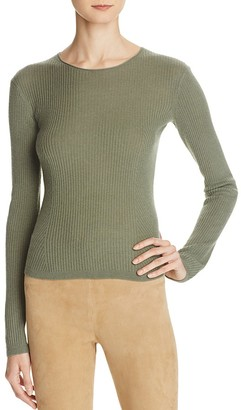 Vince Cashmere Ribbed Sweater $255 thestylecure.com