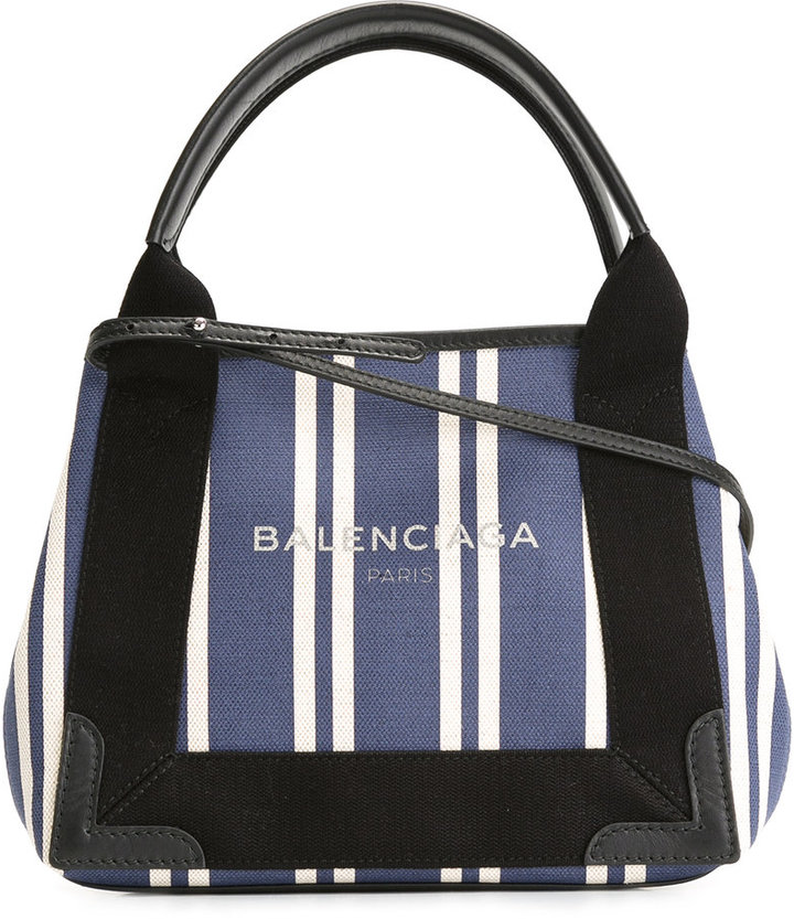 Balenciaga Balenciaga striped crossbody bag