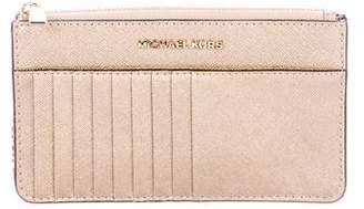 MICHAEL Michael Kors Jet Set Travel Chain Wallet w/ Tags