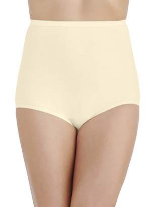 Vanity Fair Women's Perfectly Yours Tailored Cotton Brief Panty 1531
