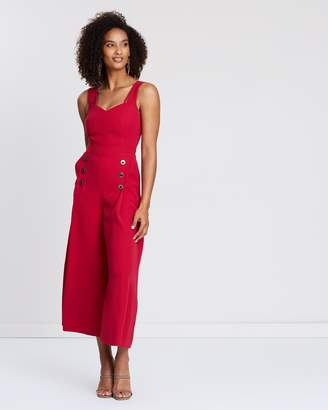 Karen Millen Open Back Jumpsuit