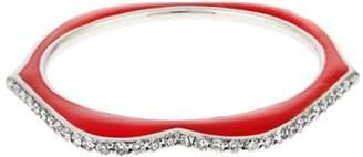 Raphaele Canot - Omg! Diamond, Enamel & White Gold Ring - Womens - Red