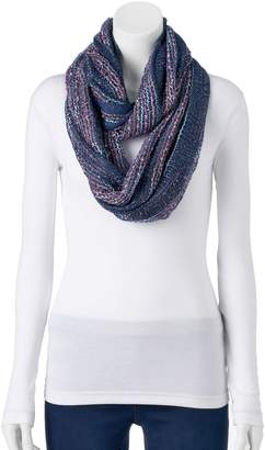 Apt. 9 Women's Party Confetti Railroad Infinity Scarf