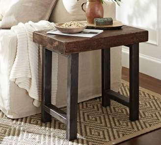 Pottery Barn Griffin Reclaimed Wood End Table