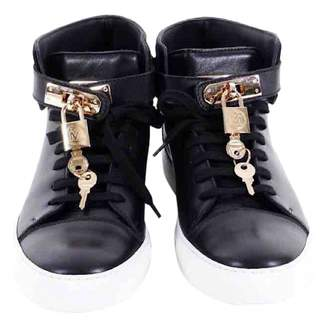 Michalsky Black Leather Trainers
