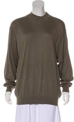 Baracuta Mock Neck Knit Top
