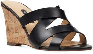 Nine West Lila Wedge Slide Sandal