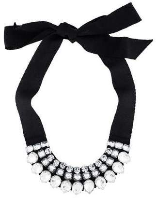 Lanvin Crystal Collar Necklace