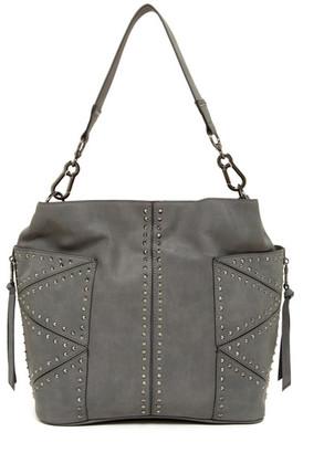 Steve Madden BKamrin Faux Leather Studded Kolt Hobo $108 thestylecure.com