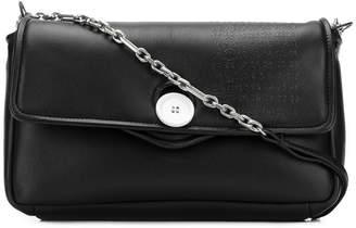 Maison Margiela embossed button shoulder bag