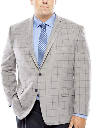COLLECTION Collection by Michael Strahan Patterned Sport Coat - Big & Tall