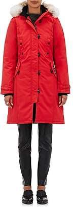 Canada Goose Women's Kensington Fur-Trimmed Parka $895 thestylecure.com