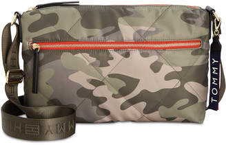 Tommy Hilfiger Kensington Camo Quilted Nylon Crossbody