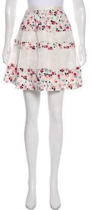 Christian Dior Printed A-Line Skirt