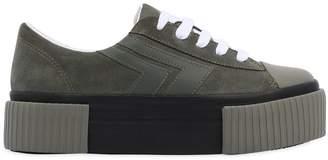 40mm Mongo Suede Platform Sneakers
