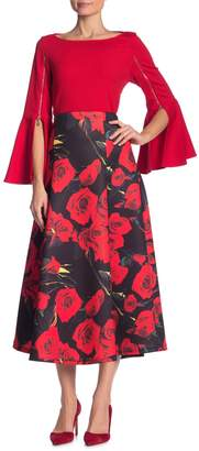 Why Dress Floral A-Line Maxi Skirt