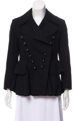 Burberry Double-Breasted Wool Jacket